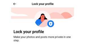 फेसबुक प्रोफाइल लॉक कैसे करें   How To Lock Facebook Profile